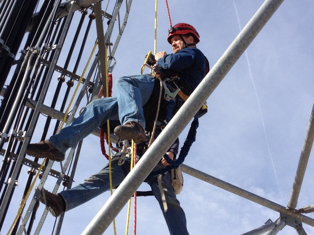 Cell Tower certs, Cell Tower Certifications, Authorized Climber, Competent Climber, Competent Rigger, Tower Safety, tower safety and rescue