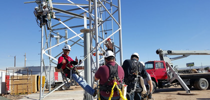 Wireless Cell Tower certificates Train the Trainer