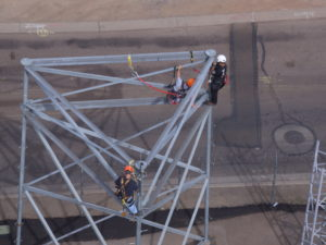 Tower Safety and rescue by telecom technical