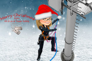 tower safety and rescue Merry Christmas
