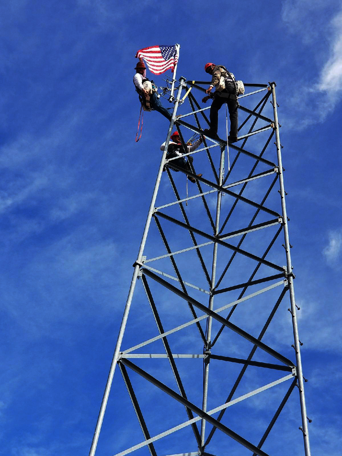 competent climber certification for cell tower workers