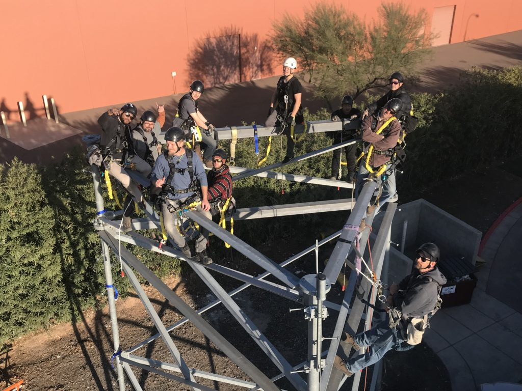 Tower Safety and Rescue training course