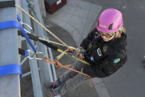 authorized climber