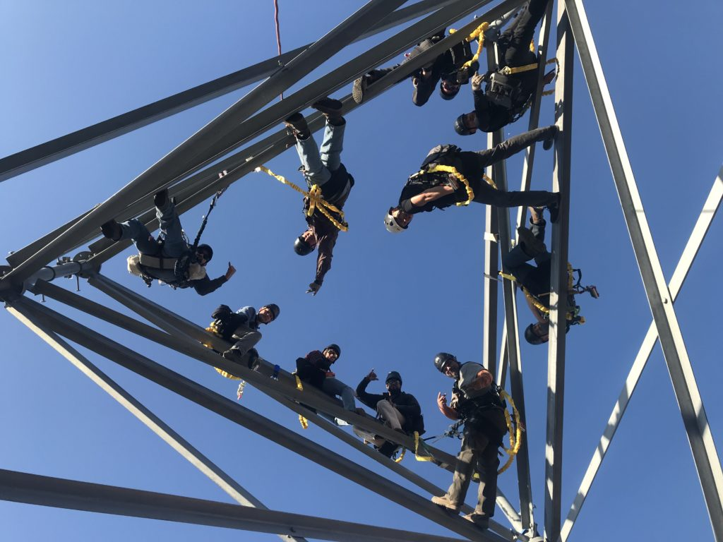 Tower Safety and cell tower Rescue courses