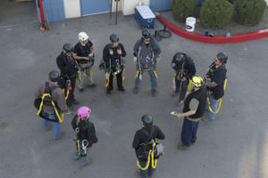 Tower safety and rescue courses
