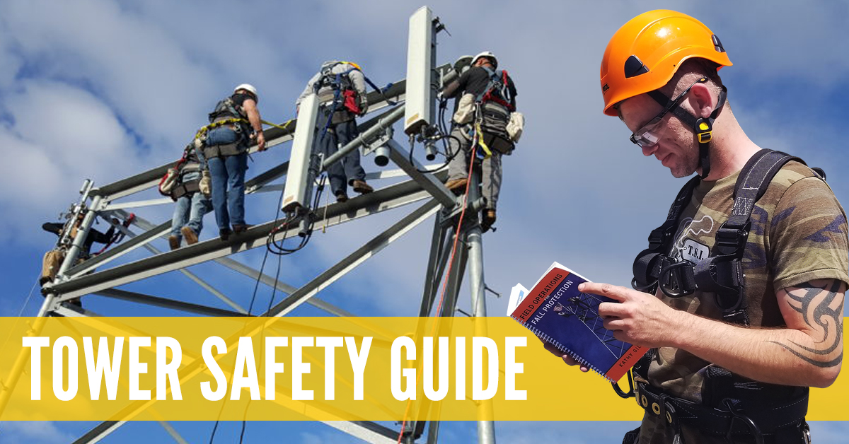 Tower safety and rescue courses training book, Field Operations for the cell tower industry